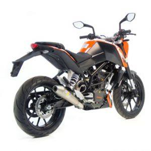 ktm 125 duke sportauspuff. Black Bedroom Furniture Sets. Home Design Ideas
