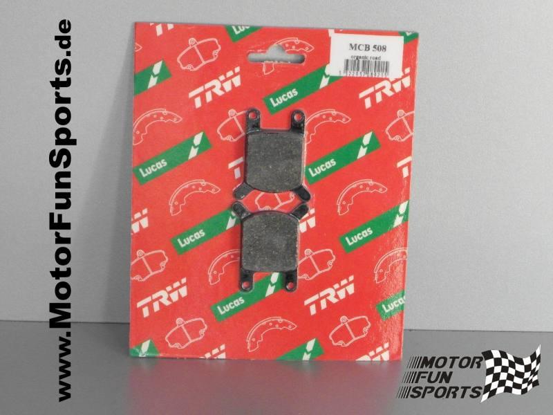 KTM MLS 50 RSL 50 Bremsbeläge Satz TRW Lucas Scheibenbremse Mokick KKR Neu *